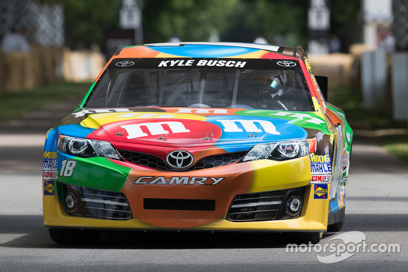 Kyle Busch's NASCAR Toyota Camry