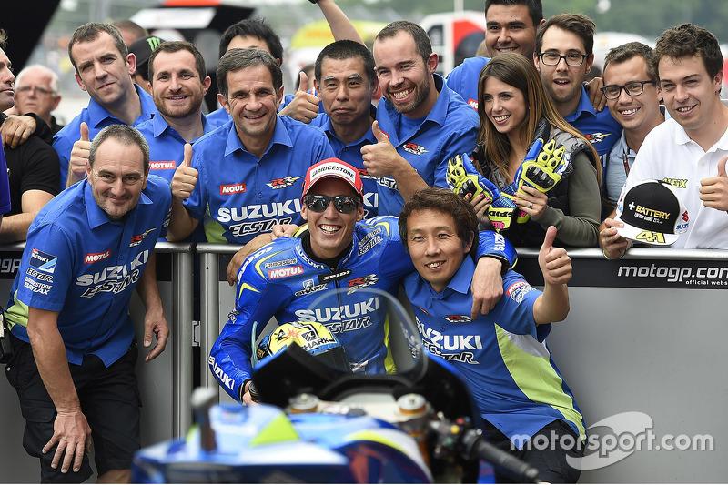 2. im Qualifying, Aleix Espargaro, Team Suzuki MotoGP