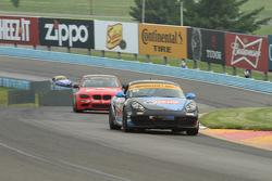 #83 Next Level European, Porsche Cayman: Greg Liefooghe, Eric Zimmermann