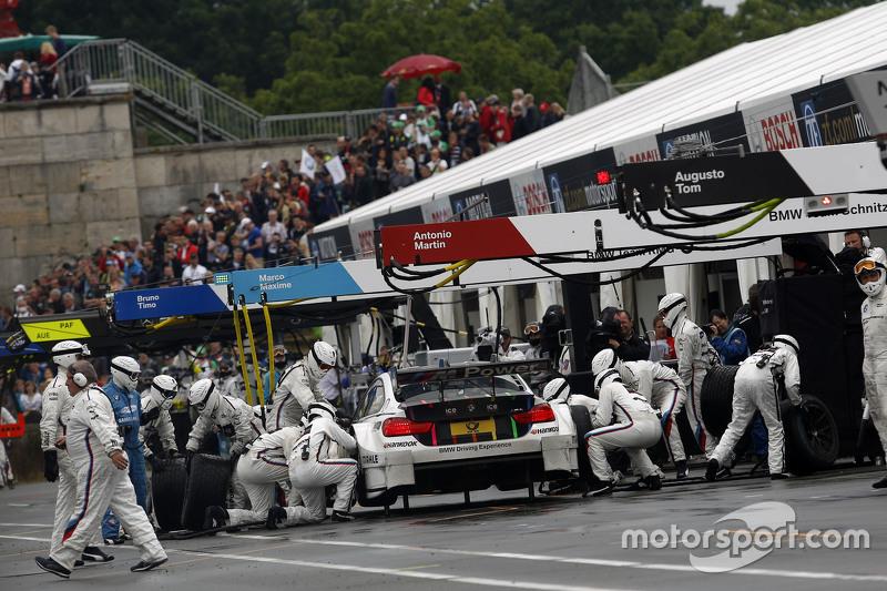 Pitstop, Marco Wittmann, BMW Team RMG BMW M4 DTM