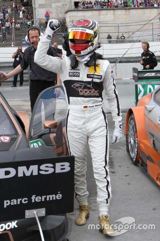 Winner Pascal Wehrlein, HWA AG Mercedes-AMG C63 DTM