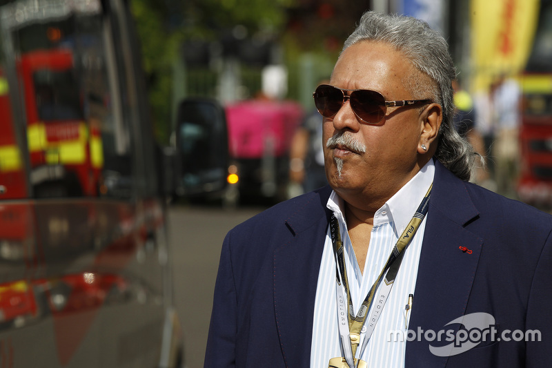 Vijay Mallya dari Force India