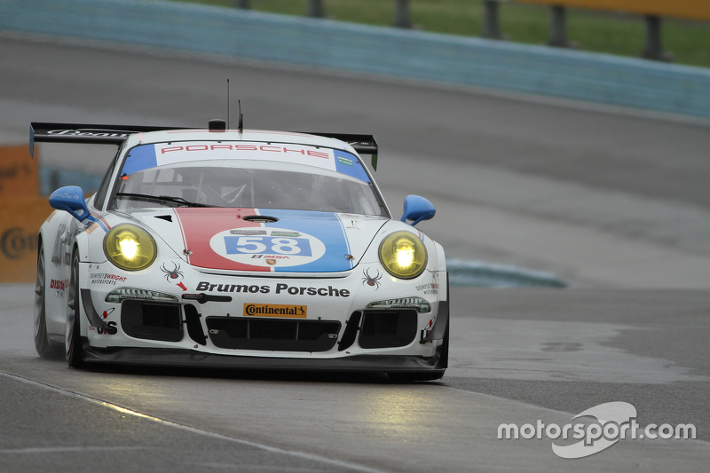 #58 Wright Motorsports Porsche 911 GT America: Madison Snow, Jan Heylen