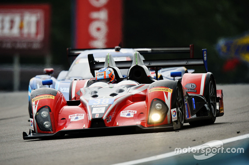 #38 Performance Tech Motorsports ORECA FLM09: James French