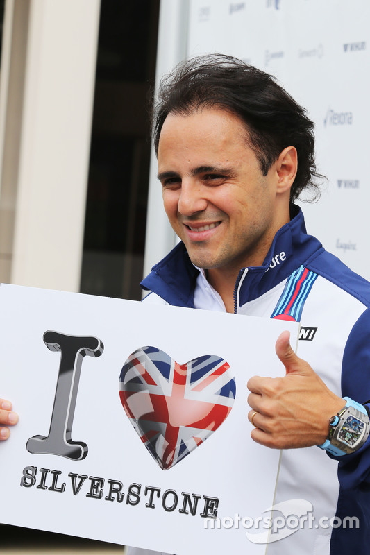 Felipe Massa, Williams, liebt Silverstone