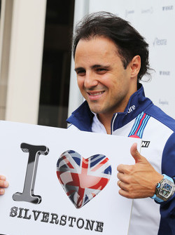 Felipe Massa, Williams loves Silverstone.