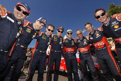 Marc Martin, Daniel Sordo, Nicolas Gilsoul, Thierry Neuville, Hayden Paddon, John Kennard, Kevin Abbring, Sebastian Marshall, Hyundai Motorsport