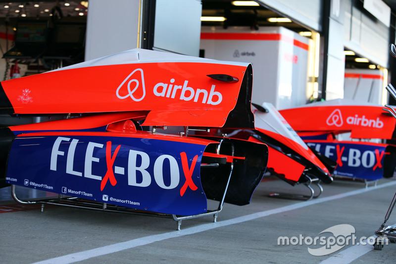 Manor F1 Team, Motorhauben