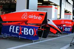 Des capots moteur de Manor F1 Team