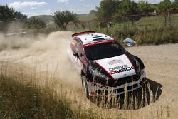 Sander Parn and James Morgan, Ford Fiesta R5
