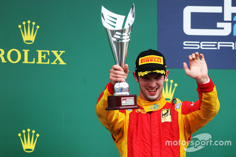 Podium: 2. Alexander Rossi, Racing Engineering