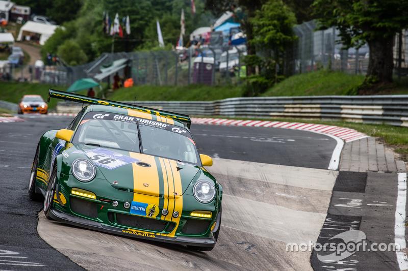 #56 9und11 Racing Porsche 997 GT3 Cup: Georg Goder, Martin Schlüter, Dirk Lessmeister