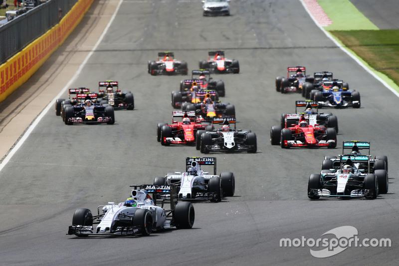 Partenza: Felipe Massa, Williams FW37 al comando