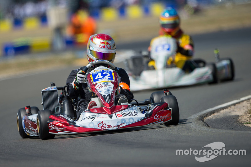 #42 Rennes CG Racing: Nicolas Messager, Gwenael Le Dizez, Corentin Gilson, Gautier Ebel