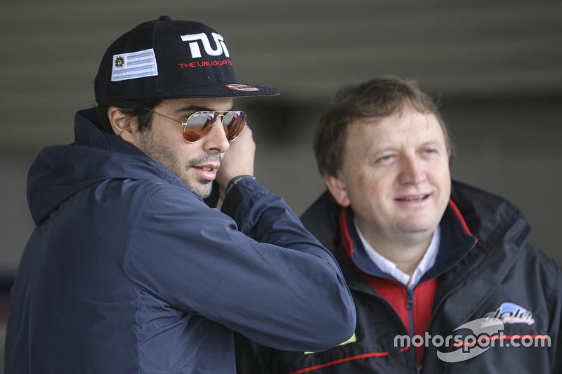 Маурісіо Ламбіріс, Coiro Dole Racing Torino та власник команди Маркос Якос