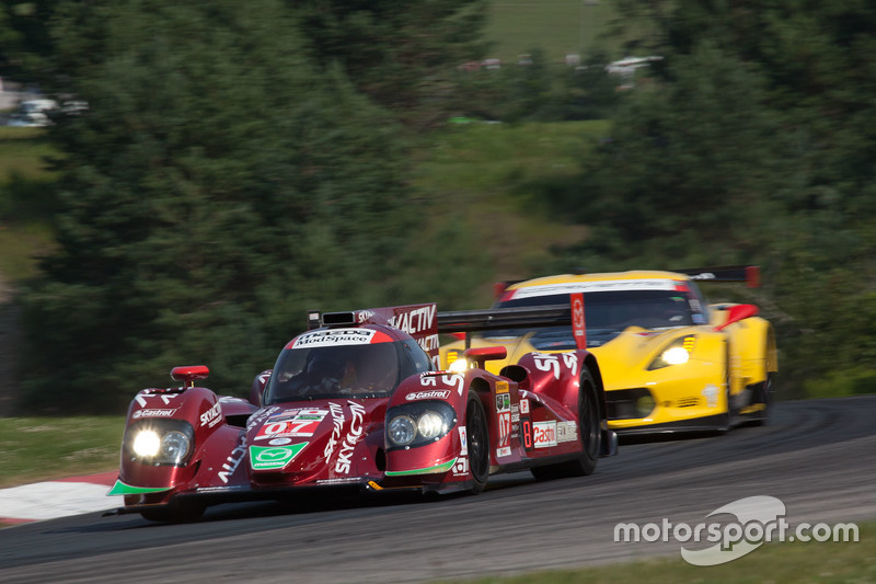 #07 SpeedSource Mazda Prototype: Joel Miller, Tom Long