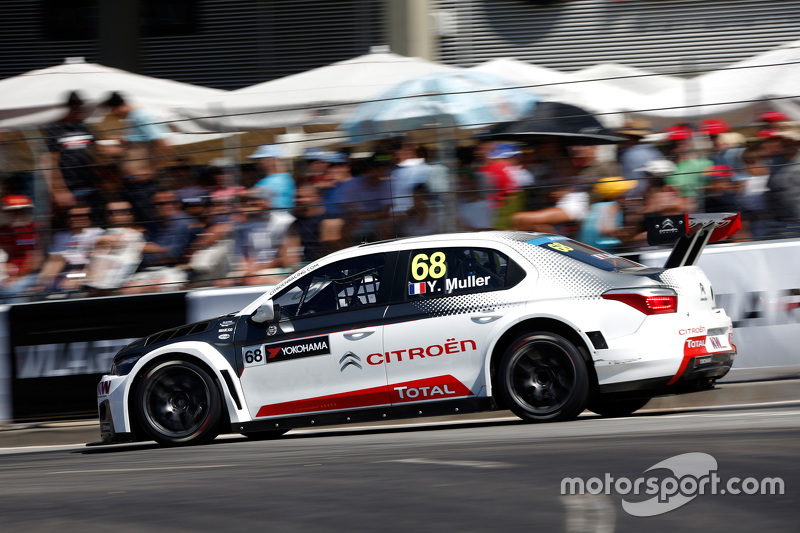 Yvan Muller, Citroën C-Elysée WTCC, tim Citroën World Touring Car