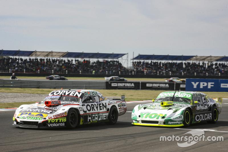 Juan Marcos Angelini, UR Racing Dodge dan Agustin Canapino, Jet Racing Chevrolet
