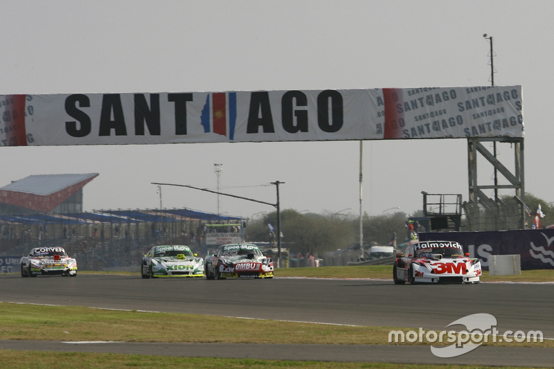 Mariano Werner, Werner Competicion Ford, dan Facundo Ardusso, Trotta Competicion Dodge, dan Agustin Canapino, Jet Racing Chevrolet, dan Juan Marcos Angelini, UR Racing Dodge