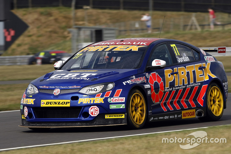 Andrew Jordan, MG Triple Eight Racing