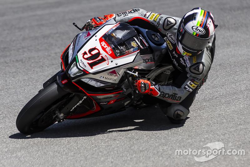 Leon Haslam, Aprilia Racing Team Red Devils