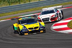 Вальдено Брито, Атила Абреу, BMW Z4 и Маркус Винкельхок. Audi R8 LMS ultra