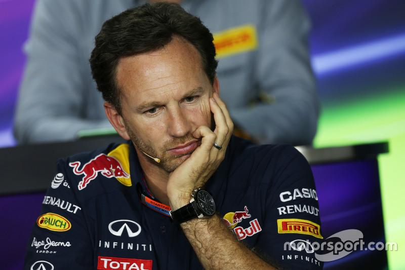 Christian Horner, Red Bull Racing Team Principal dalam Konferensi Pers FIA
