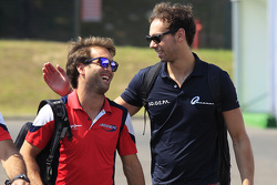André Negrao, Arden International and Nathanael Berthon, Team Lazarus