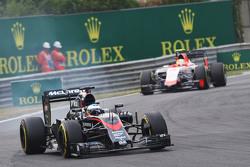 Verbremser: Fernando Alonso, McLaren MP4-30