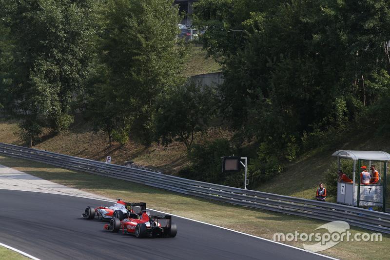 Ніколас Латіфі, MP Motorsport лідирує  Андре Неграо, Arden International