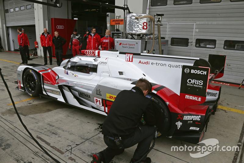 Pengetesan Audi Sport Team Joest