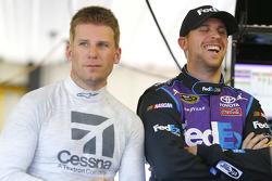 Denny Hamlin, Joe Gibbs Racing Toyota dan Jamie McMurray, Chip Ganassi Racing Chevrolet