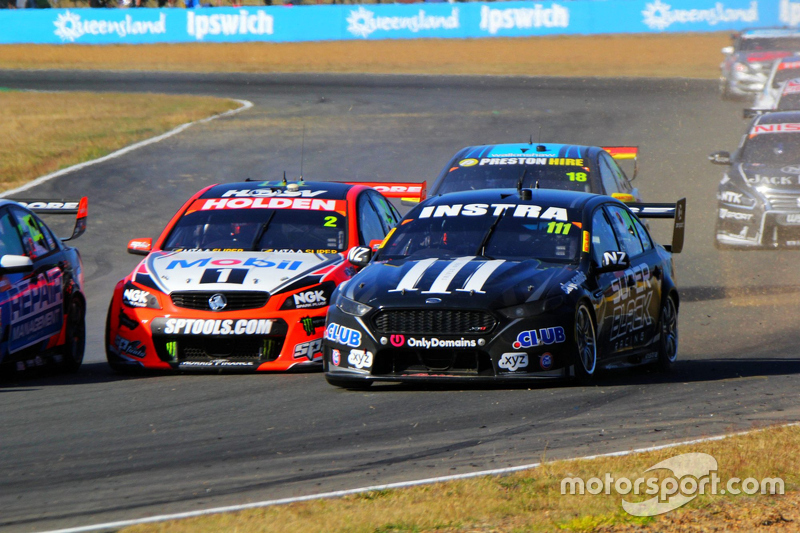 Andre Heimgartner, Super Black Racing Ford dan Garth Tander, Holden Racing Team