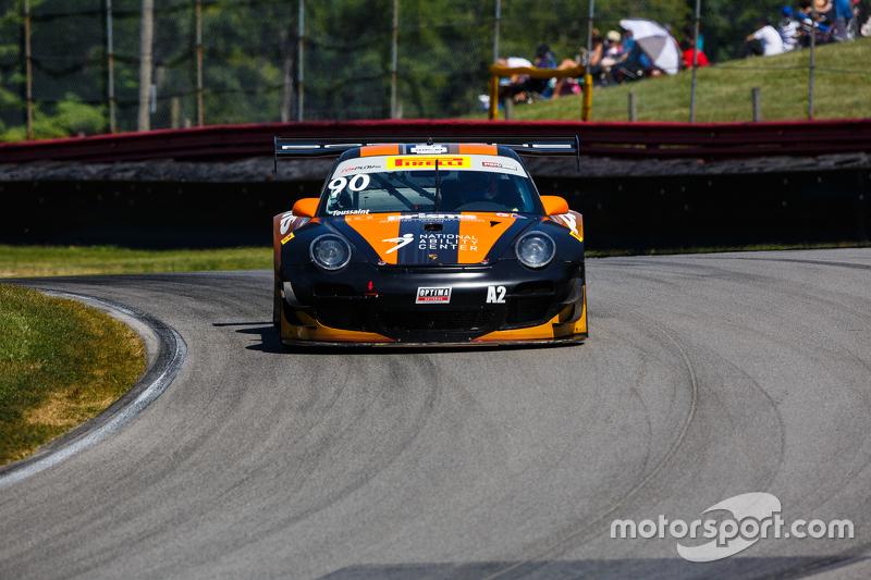 #90 Autometrics Motorsports Porsche 911 GT3R: Joseph Toussaint