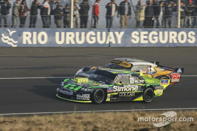 Мауро Галломбардо, Maquin Parts Racing Ford та Леонель Пернія, Las Toscas Racing Chevrolet