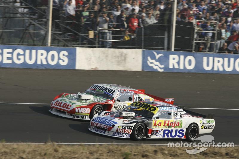Martin Serrano, Coiro Dole Racing Dodge, dan Mariano Altuna, Altuna Competicion Chevrolet