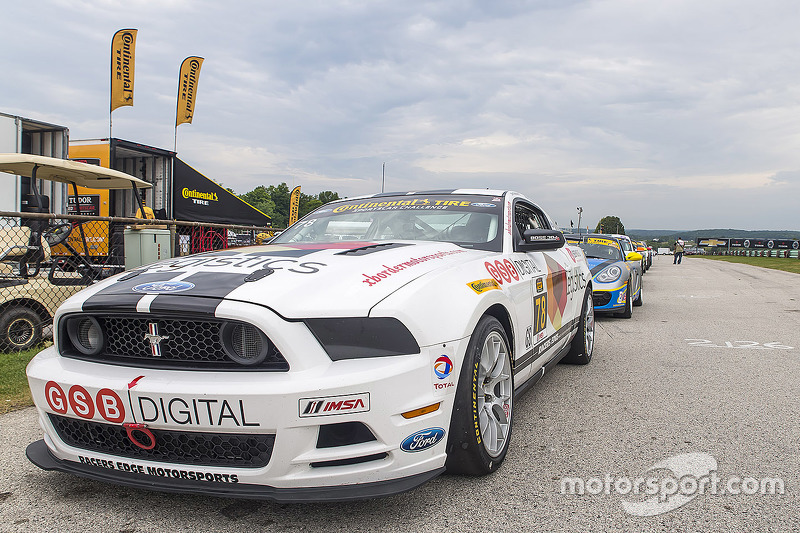 #78 Racers Edge Motorsports Mustang Boss 302 R: Chris Beaufait, Brian Faessler