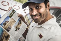 ناصر العطية في رالي قطر