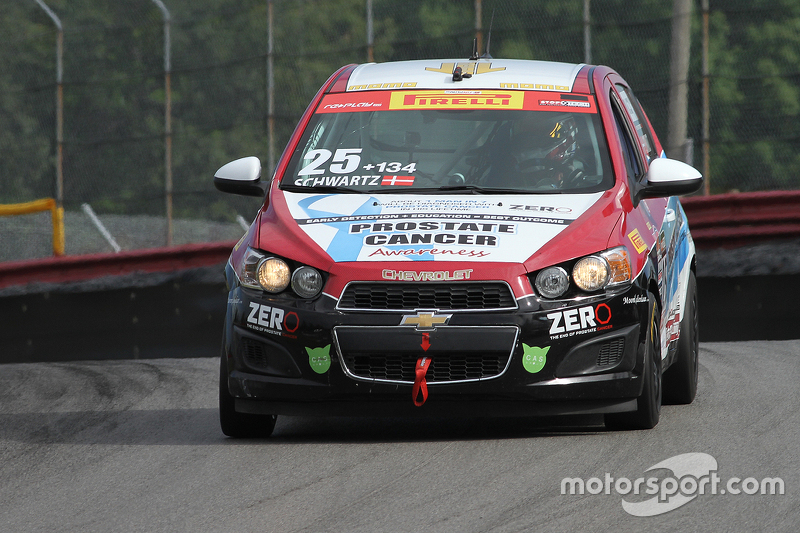 #25 Tech Sport Racing Chevy Sonic: Johan Schwartz