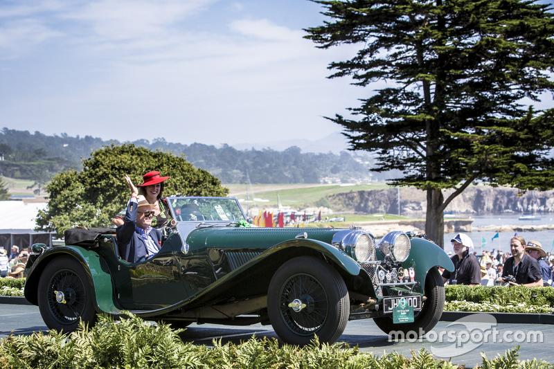 Jaime & Cecilia Muldoon, 1937 Jaguar SS 100 Roadster