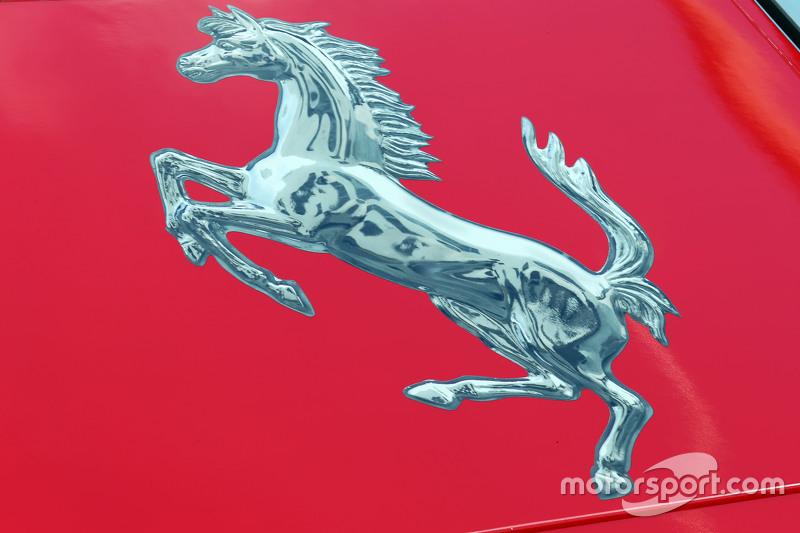 Ferrari prancing horse logo