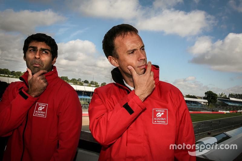 Karun Chandhok and Nissan mentor