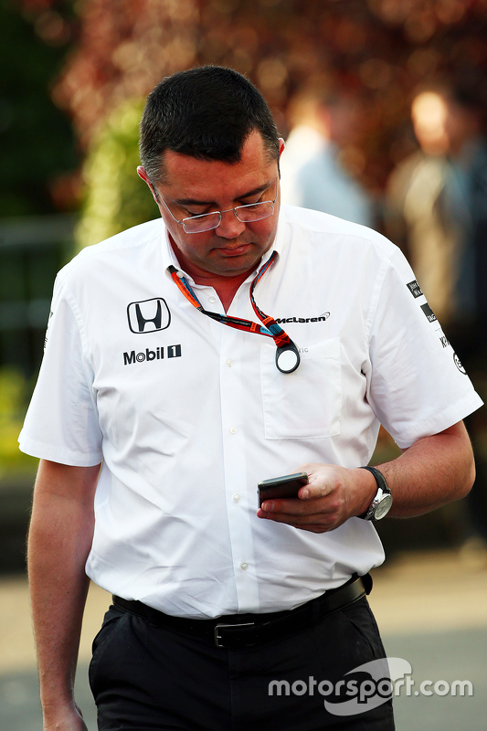 Eric Boullier, McLaren Racing