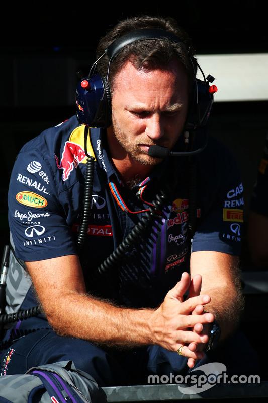 Christian Horner, diretor da Red Bull Racing