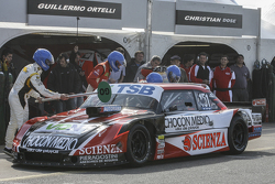 First time refueling in TC Jose Manuel Urcera, JP Racing Torino