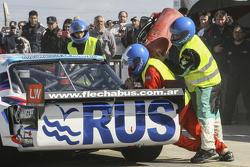 First time refueling in TC Mauricio Lambiris, Coiro Dole Racing Torino