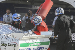 First time refueling in TC Laureano Campanera, Donto Racing Chevrolet