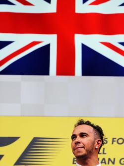 Winner Lewis Hamilton, Mercedes AMG F1