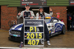 Jamie Chadwick and Ross Gunn, Beechdean AMR