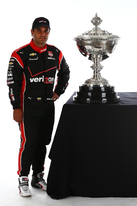 Titelkandidaat Juan Pablo Montoya, Team Penske Chevrolet